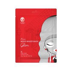 Mască Șervețel Mood Maker Mask Glam, Antirid și Fermitate, 23g | Ariul