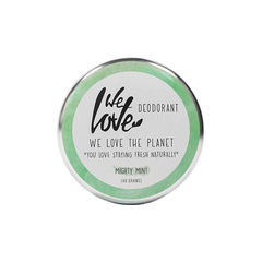 Deodorant Natural Cremă - Mighty Mint - Cutie Metalică, 48g | We Love The Planet