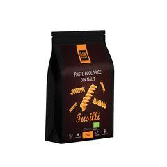 Paste ecologice Fusilli din Năut, Fără Gluten, 250g | Rawboost