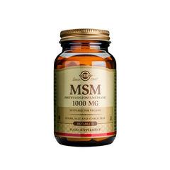 MSM (Metilsulfonilmetan) 1000mg, 60 tablete | Solgar