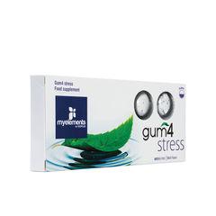 Gum4 Stress - Gumă de mestecat fără zahăr | Myelements