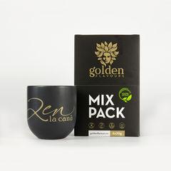 Turmeric Latte Mix Pack 6x70g + Cană CADOU | Golden Flavours