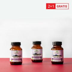 Pachet Bowelcare Tranzit Intestinal 60 cps 2+1 GRATIS | Organic India