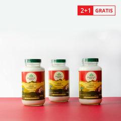 Pachet Ulei de Cocos Organic Extra Virgin 500ml 2+1 GRATIS | Organic India