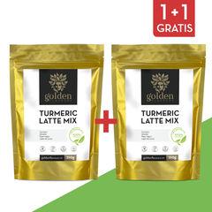 Pachet 1+1 Gratis Turmeric Latte Mix 210g | Golden Flavours