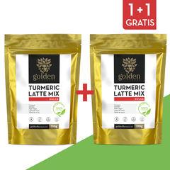 Pachet 1+1 Gratis Turmeric Latte Mix Dulce 210g | Golden Flavours
