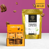 Pachet POWER PLUS Coffee Pixels Cascara 20 buc + Turmeric Latte Mix 210g