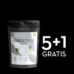 Pachet 5+1 GRATIS Făină de Cocos Organică/Bio 250g | Niavis