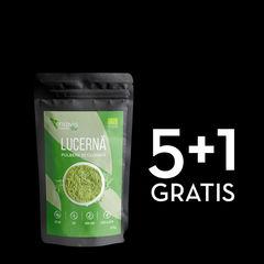 Pachet 5+1 GRATIS Lucernă (Alfalfa) Pulbere Ecologică/Bio 125g | Niavis
