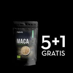 Pachet 5+1 GRATIS Maca Pulbere Ecologică/Bio 125g | Niavis
