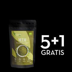 Pachet 5+1 GRATIS Neem Pulbere Ecologică/Bio 125g   Niavis
