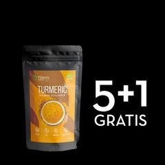 Pachet 5+1 GRATIS Turmeric Pulbere Ecologică/Bio 125g | Niavis