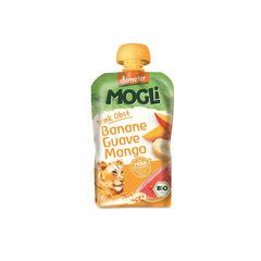 Piure eco/bio de banane, guava şi mango 100g | Mogli