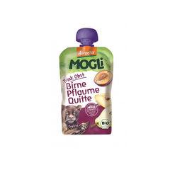 Piure eco/bio de prune, gutui şi pere 100g | Mogli