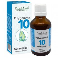 POLYGEMMA Nr.10 (Bărbați 50+), 50ml | Plantextrakt