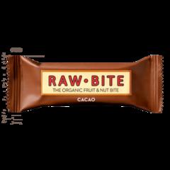 BATON FARA GLUTEN RAW CACAO (CACAO BRUT), Bio, 50G, RAW-BITE