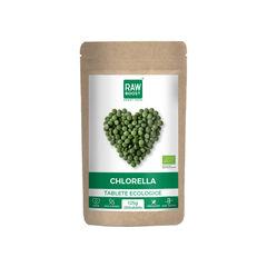 Chlorella tablete ecologice 125g/250tb | Rawboost