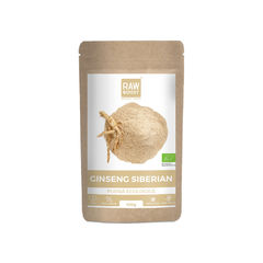Ginseng Siberian pudră ecologică 100g | Rawboost