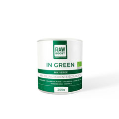 In Green mix verde ecologic 200g | Rawboost