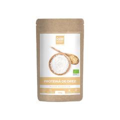Proteină de orez pudră ecologică 250g | Rawboost