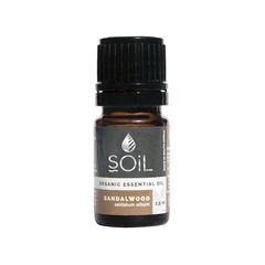 Ulei Esențial de Lemn de Santal (Sandalwood) Ecologic/Bio, 2.5ml | SOiL