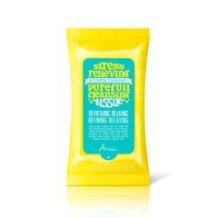 Șervețele de Curățare a Tenului, Stress Relieving Purefull Cleansing Tissue | Ariul