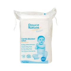 Șervețele Uscate Pentru Bebeluși, 60 bucăți | Douce Nature