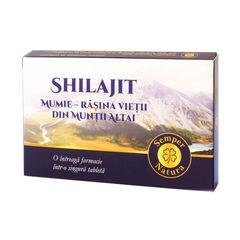 Shilajit-Mumie Rășina Vieții din Munții Altai 200mg, 60 tablete | Semper Natura