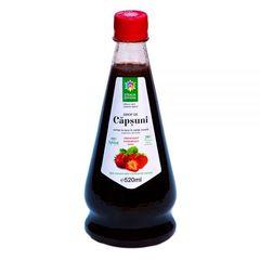 Sirop Natural de Căpșuni Presat la Rece, 520ml | Steaua Divină