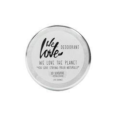Deodorant Natural Cremă - SO Sensitive - Cutie Metalică, 48g | We Love The Planet