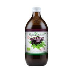 Suc de Soc Negru 100% Pur, Bio, 500ml | Health Nutrition