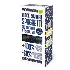 Paste Spaghetti din Soia Neagră Bio, 200g | Diet-Food