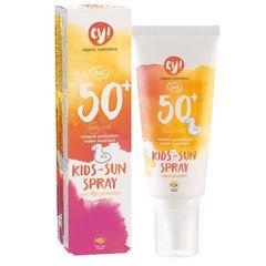 Spray Bio Protecție Solară Bebe și Copii FPS 50+, 100ml - ey! | Eco Cosmetics