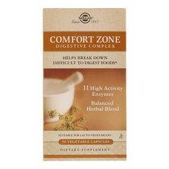 Comfort Zone Digestive Complex (enzime digestive), 90 capsule | Solgar