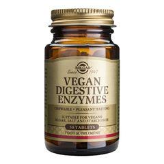 Vegan Digestive Enzymes (Enzime Digestive Pentru Vegani), 50 tablete | Solgar