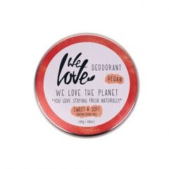 Deodorant Natural Cremă - Sweet & Soft - Vegan - Cutie Metalică, 48g | We Love The Planet