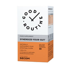 Synergize Your Gut Good Routine, 30 capsule vegetale | Secom