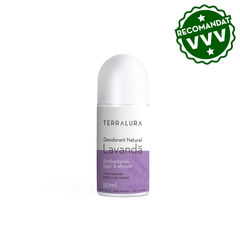 Deodorant Roll-on Natural Lavandă, 50ml | Terralura