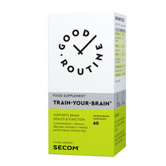 Train Your Brain Good Routine, 60 capsule vegetale| Secom