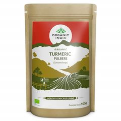 Turmeric Pulbere, 100% Organic, 100g  | Organic India