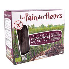 Turte Crocante din Orez Negru Fără Gluten, 150g | Le Pain des Fleurs