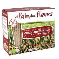 Turte Crocante din Ovăz Fără Gluten, 150g | Le Pain des Fleurs