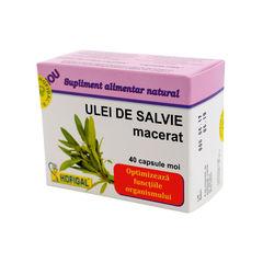 Ulei de Salvie, 40 capsule | Hofigal
