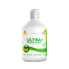 Ultra+ Detox Multivitamine Lichide cu 63 Ingrediente, 500 ml | Swedish Nutra