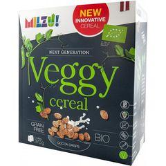 Cereale Bio fara gluten Milzu! Veggy, Pufi din faina de mazare cu cacao, 370g
