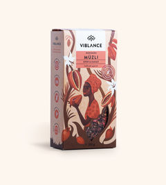 Muesli Crocant Căpșuni și Cacao, 300g   Viblance
