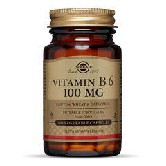 Vitamina B6 100mg, 100 capsule | Solgar