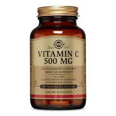 Vitamina C 500mg, 100 capsule | Solgar