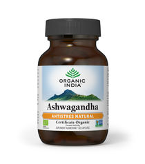 Ashwagandha Antistres Natural 60 cps | Organic India