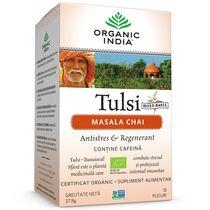 Ceai Tulsi Masala Chai, Antistres & Regenerant 18pl | Organic India